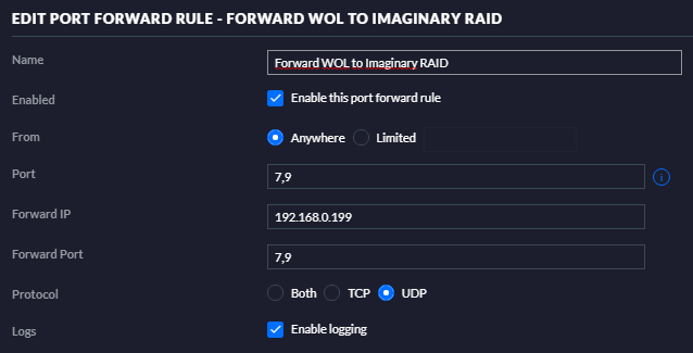 Solved] WOL between different subnets | Ubiquiti Community