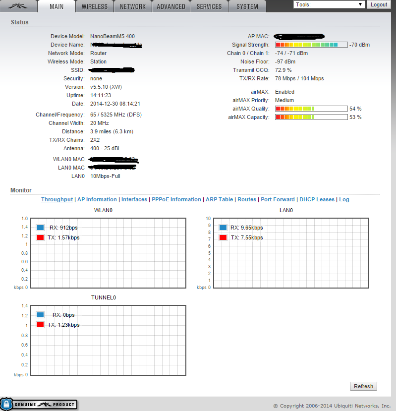 Bad pings and unstable throughput  | Ubiquiti Community