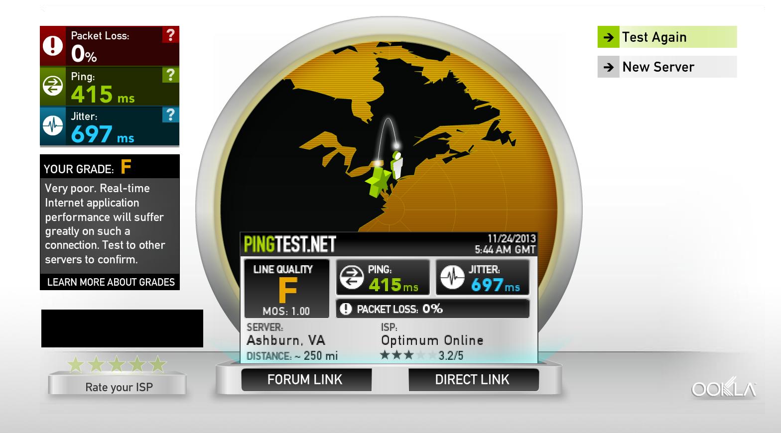 UAP-PRO terrible network