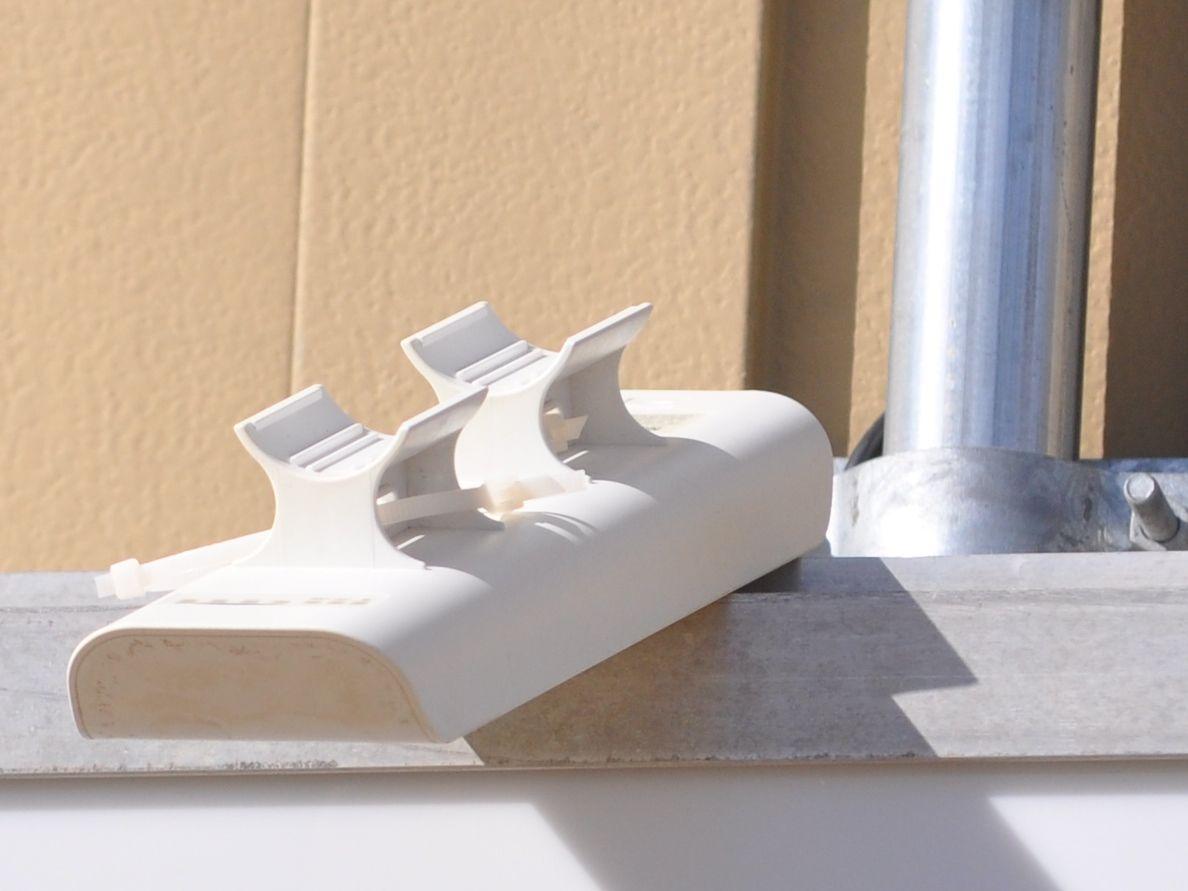 Gear clamp/zip tie OCD | Ubiquiti Community