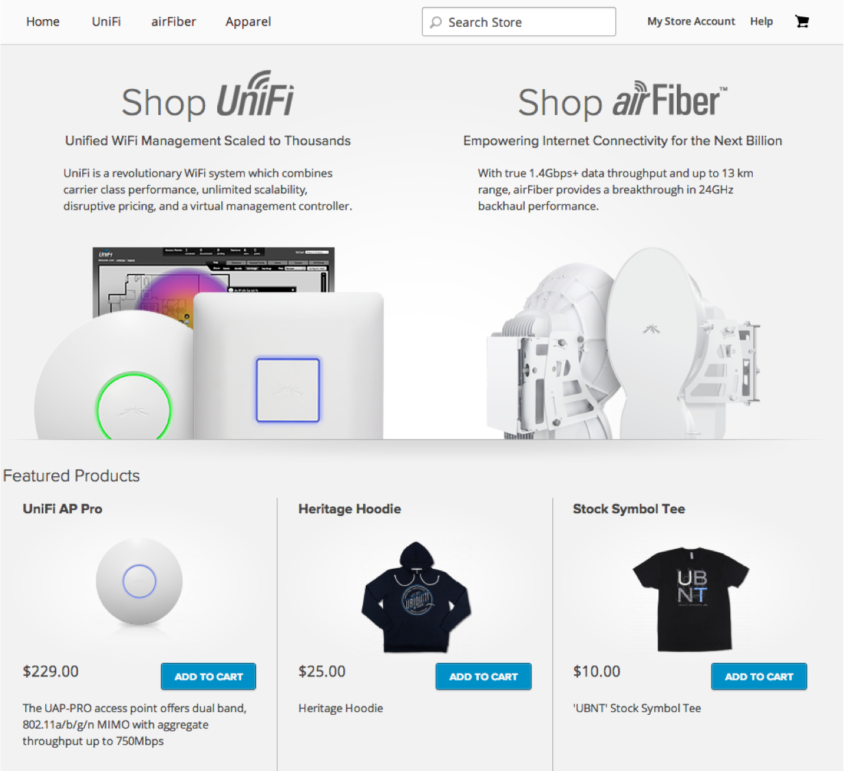Check out the new Ubiquiti Online Store -   Ubiquiti Community