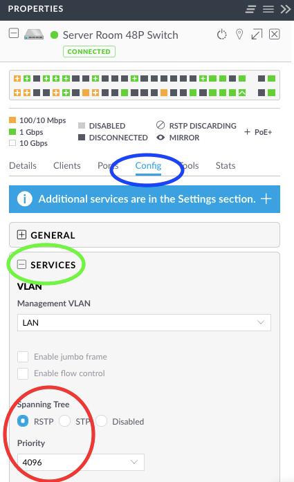 Unifi Switch blocking STP port | Ubiquiti Community