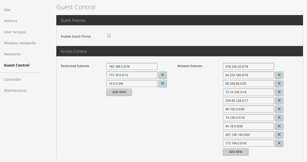 Microsoft DHCP for Guest WIFI | Ubiquiti Community