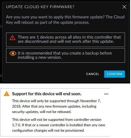 UniFi Cloud Key firmware 0 8 10 has been released | Ubiquiti Community