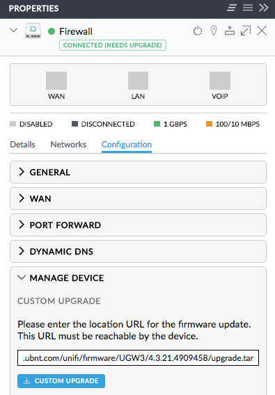 Can't upgrade USG to newer firmware | Ubiquiti Community