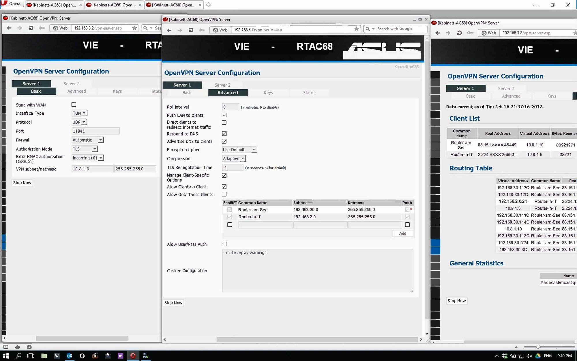 USG3 Site to site OpenVPN howto | Ubiquiti Community