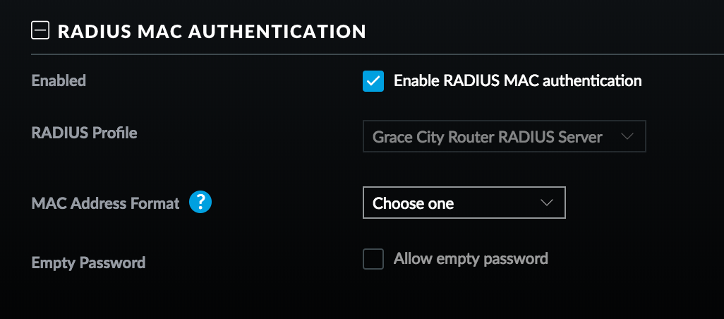 What does Radius MAC authentication do? | Ubiquiti Community