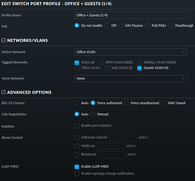 Problem getting a DHCP lease on tagged VLAN | Ubiquiti Community