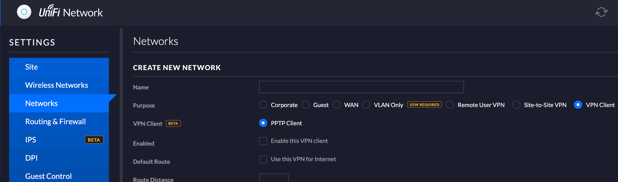 PPTP no longer supported for security reasons | Ubiquiti Community