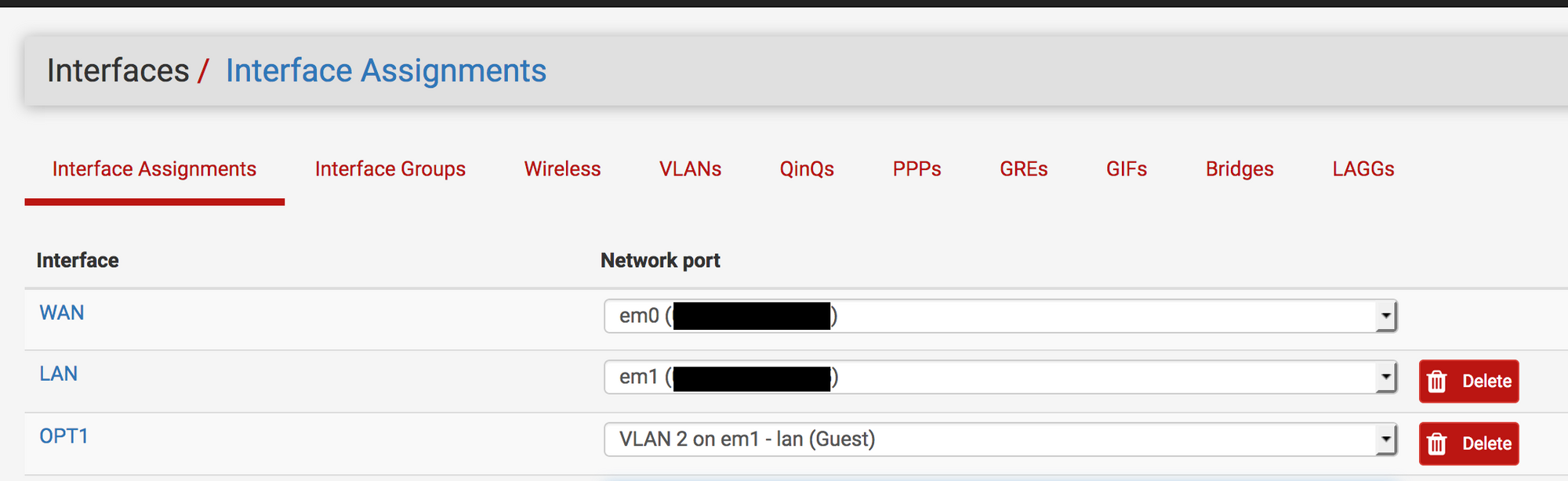 Guest Wireless Network with pfSense, UniFi Switch, and UniFi AP