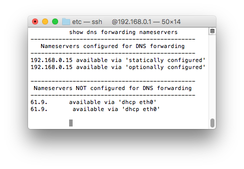 ERPoE5 + DNS forwarding (disable dnsmasq) - NOOB | Ubiquiti
