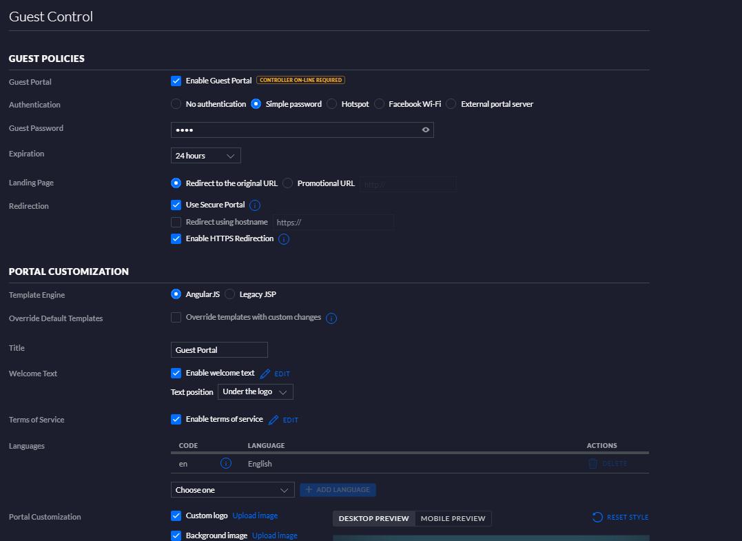 Guest Portal Error after Login Attempt | Ubiquiti Community