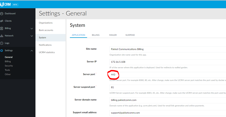 Stripe webhook url stuck on port 80 after successful SSL
