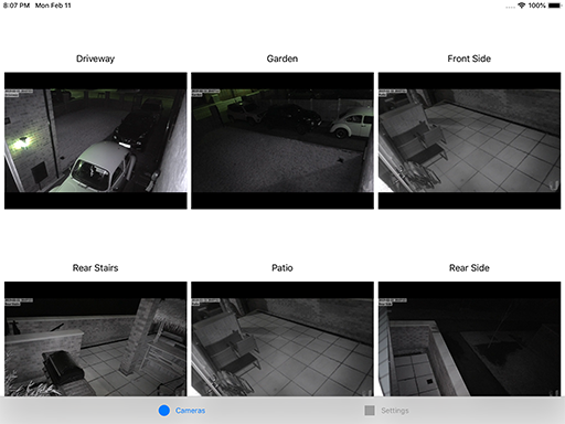 New Apple TV RTSP streaming app CCTV Viewer that Supports UniFi