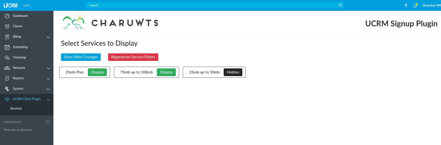 New main menu item by UCRM Plugin | Ubiquiti Community