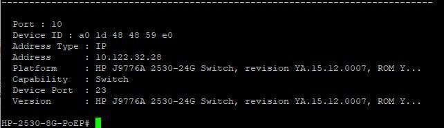 How do I give the US-16 switch an DHCP address via Aruba