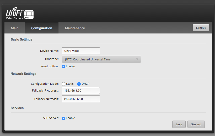 cannot ssh into nvr even after resetting  | Ubiquiti Community