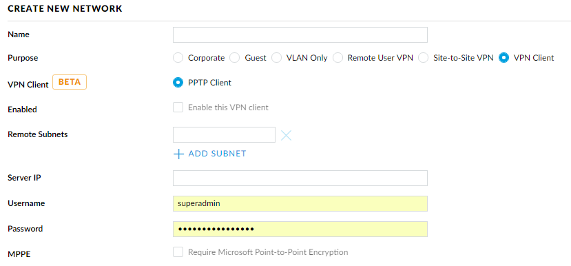 VPN Client of USG | Ubiquiti Community
