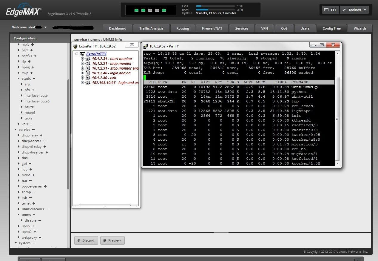 edgerouter x and edgerouter CPU spikes on v1 9 7 | Ubiquiti