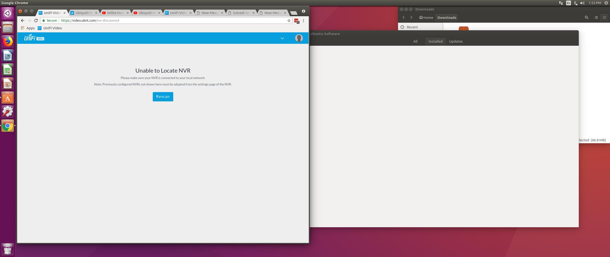Unifi Video NVR unable to locate NVR Ubuntu 16 04 | Ubiquiti Community