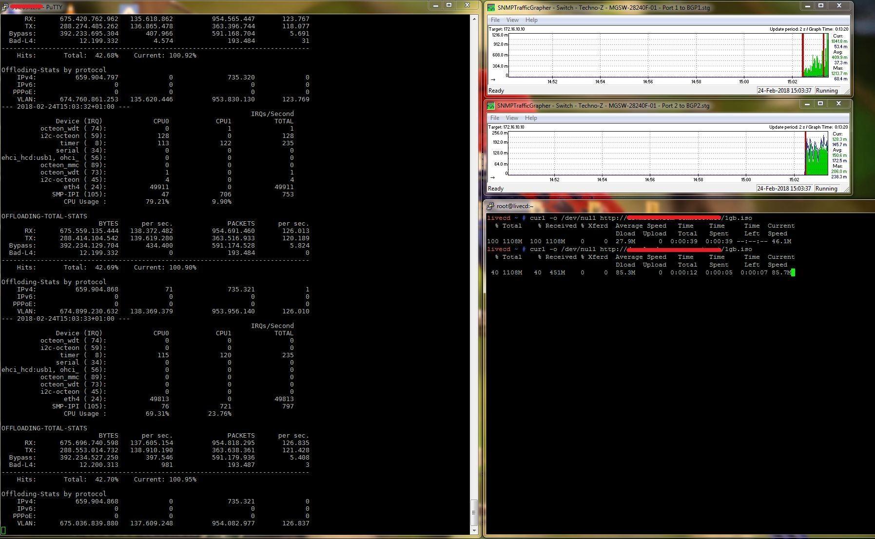Tx timeout linux