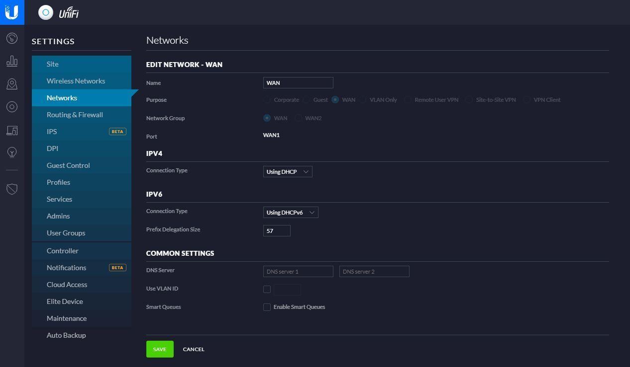 IPv6 not functional on WAN-Side | Ubiquiti Community