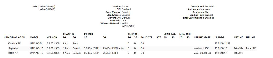 UAP AC HD Dropping Connections | Ubiquiti Community