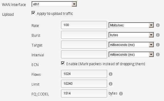 ERX / QoS / SmartQueue - recommendations for 100mb symmetric