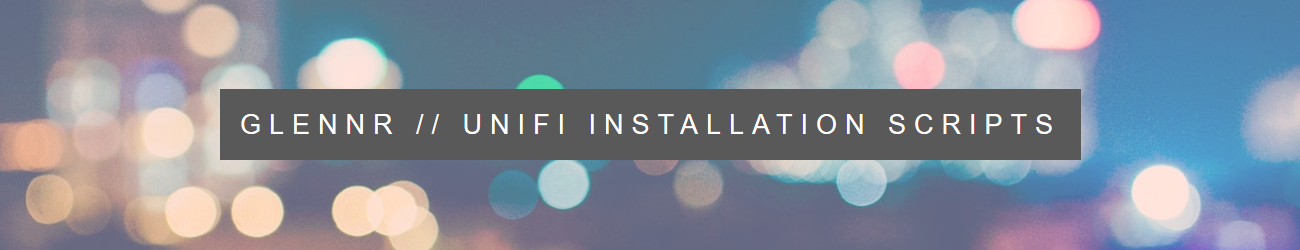 UniFi Installation Scripts | UniFi Easy Update Script | Ubuntu 16 04