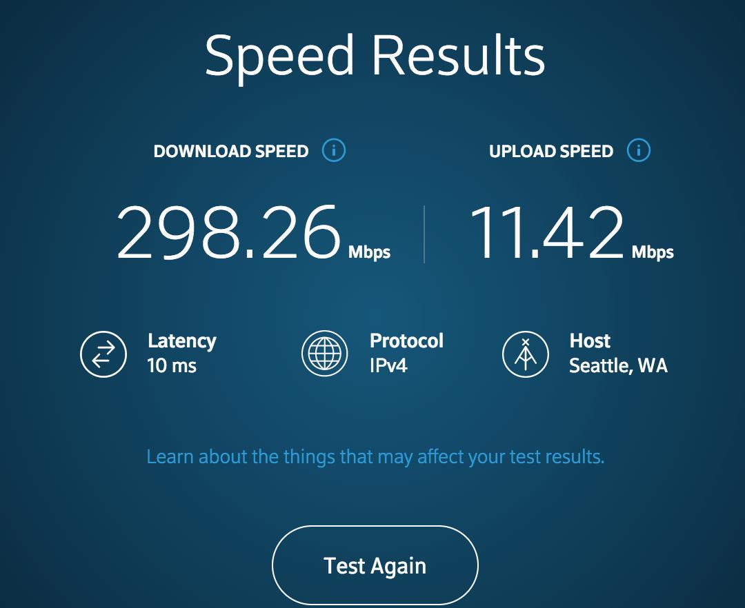Speed Test Functionality | Ubiquiti Community