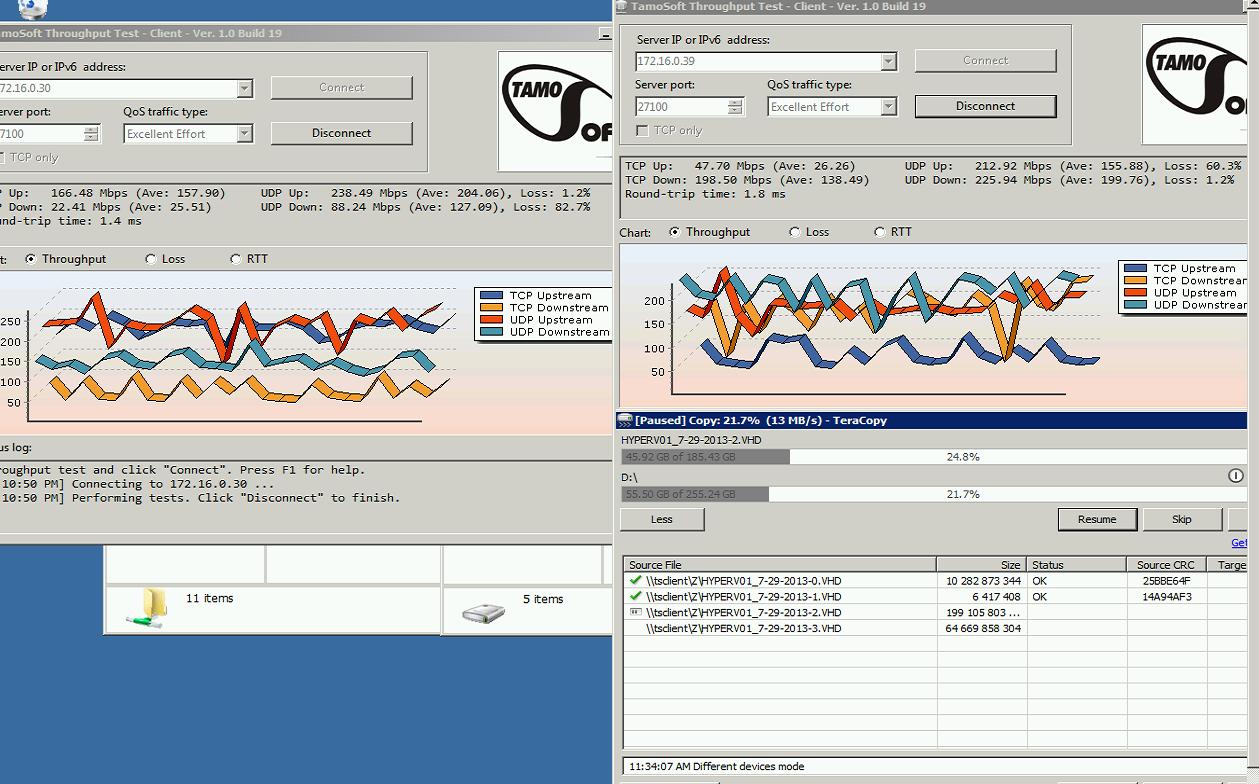 70-120Mbps TCP Throughput with airFiber | Ubiquiti Community
