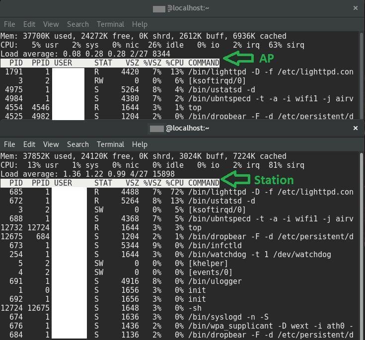 Powerbeam 5AC 300 airos 8 not responding + high CPU usage