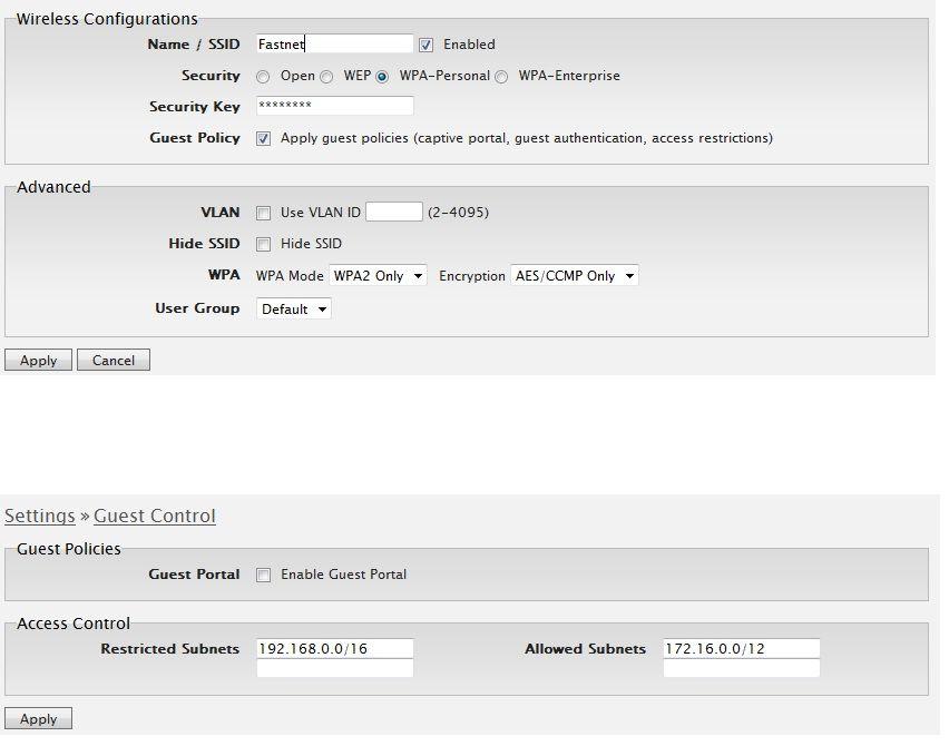 Client isolation on Unifi AP cannot load mikrotik hotspot login page