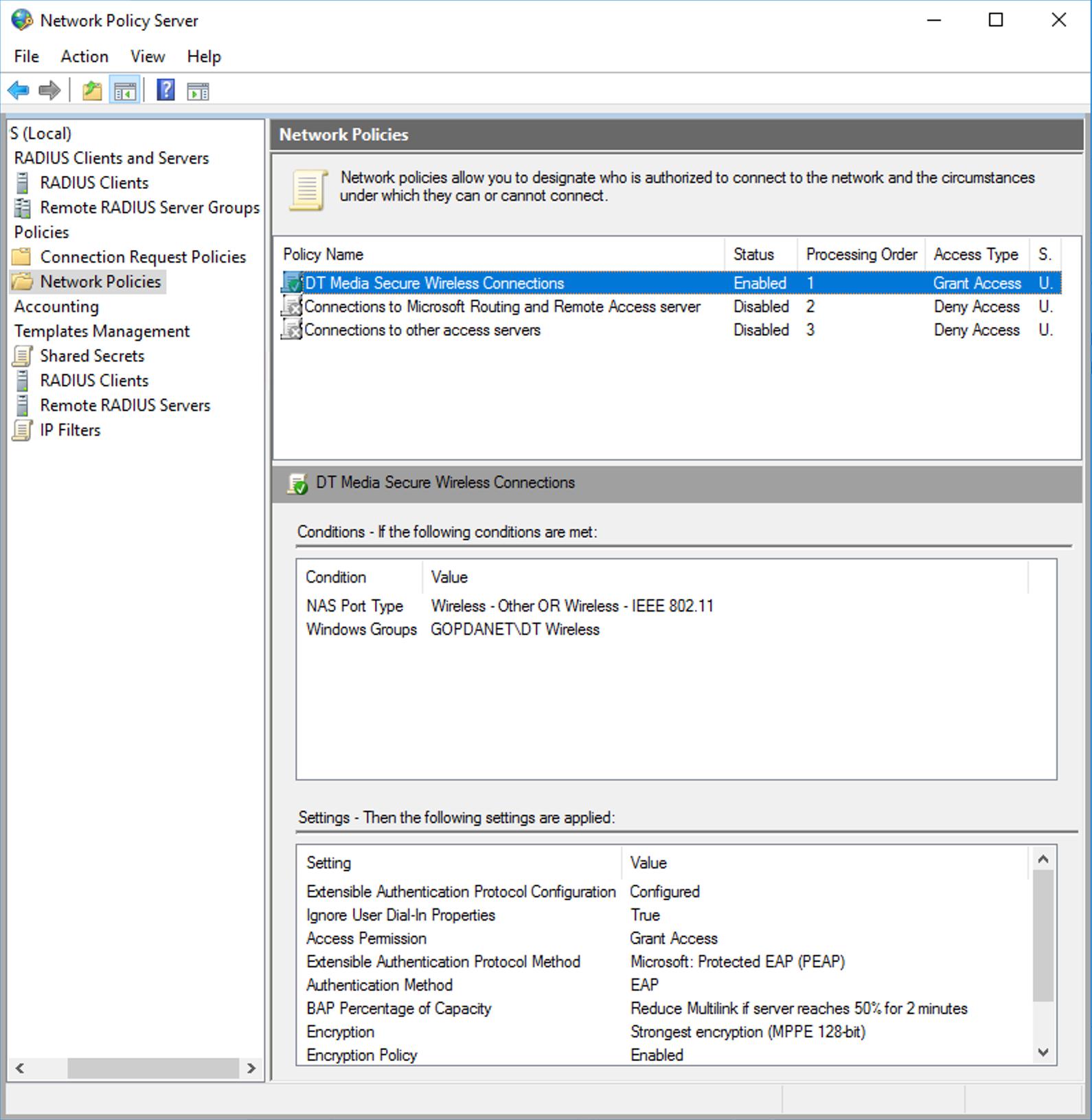 UniFi AP-AC-HD and Windows NPS problems | Ubiquiti Community