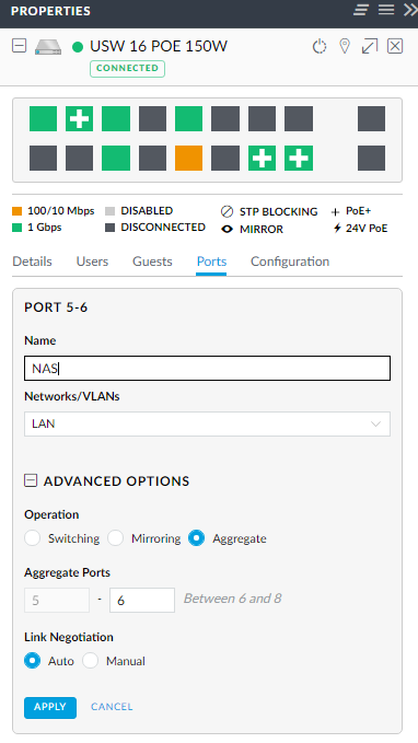 WOL not working with Dynamic Link Aggregation on Synology