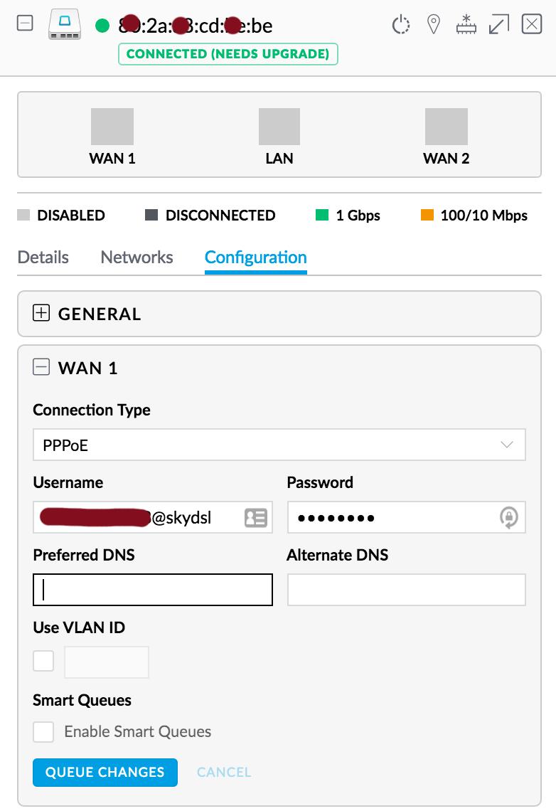 USG with Draytek Vigor 2860 in Bridge Mode | Ubiquiti Community