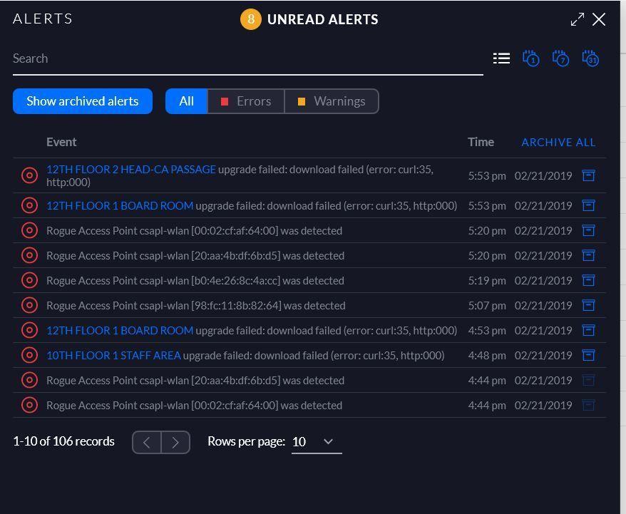 Firmware failed | Ubiquiti Community