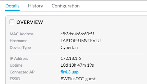 UniFi Controller - clear old connections/dhcp leases? | Ubiquiti