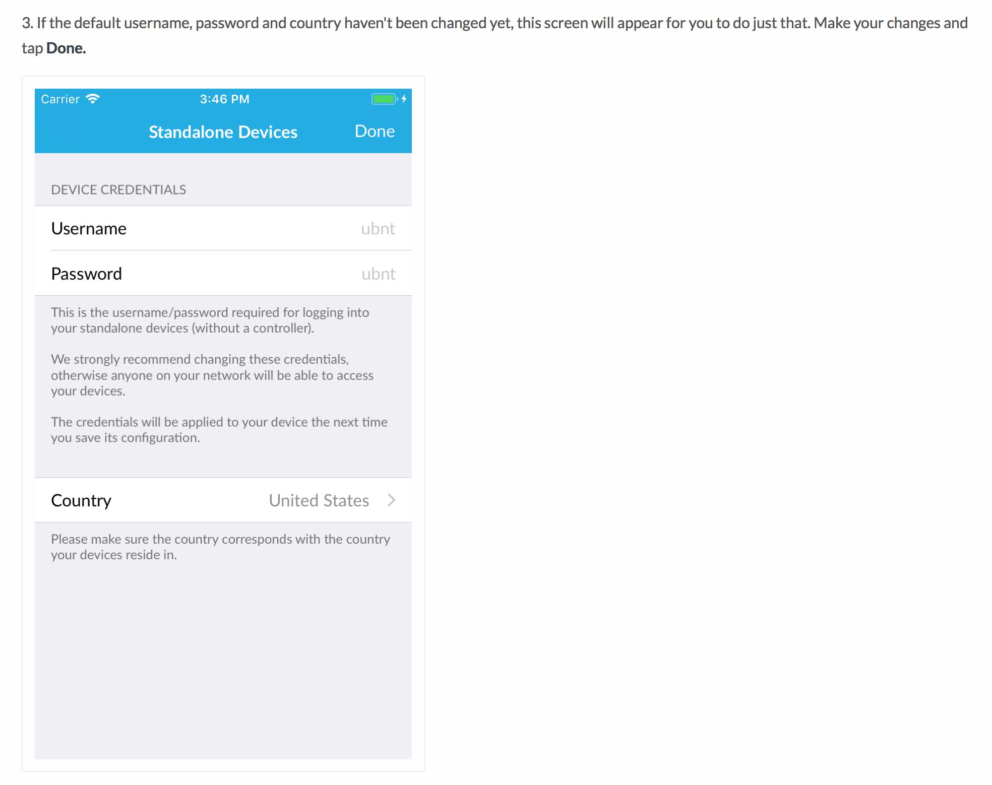 UniFi smartphone app username/password question | Ubiquiti Community
