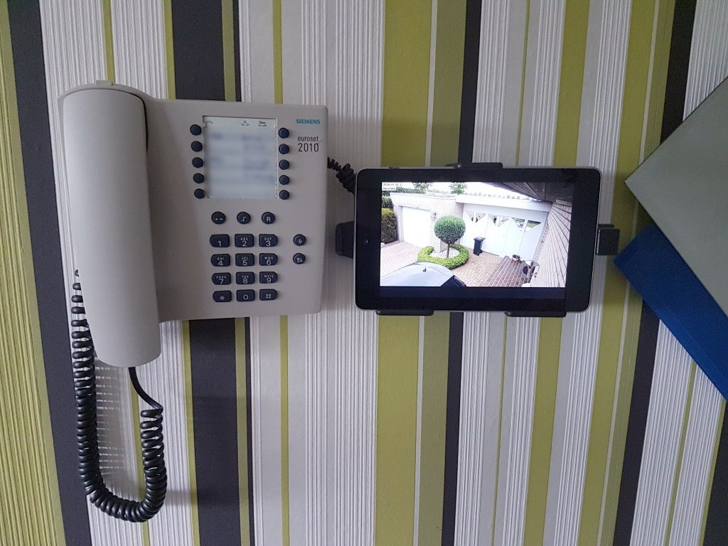 Using Android tablet to live view unifi g3 door cam