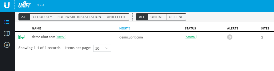 My CK controller disappeared from UniFi cloud page
