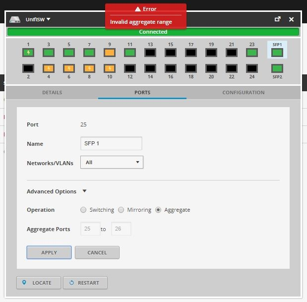 Link Aggregation on Unifi Switch | Ubiquiti Community