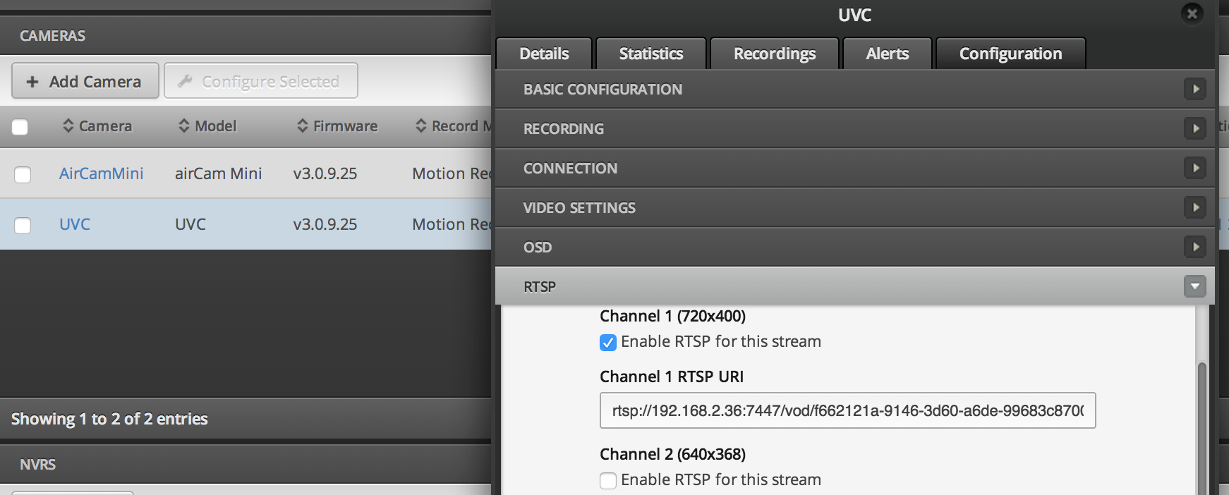 so how does the re-streaming work?   Ubiquiti Community