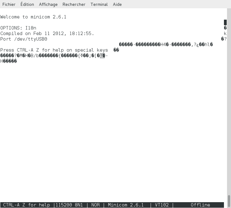 Serial console - Linux minicom settings | Ubiquiti Community