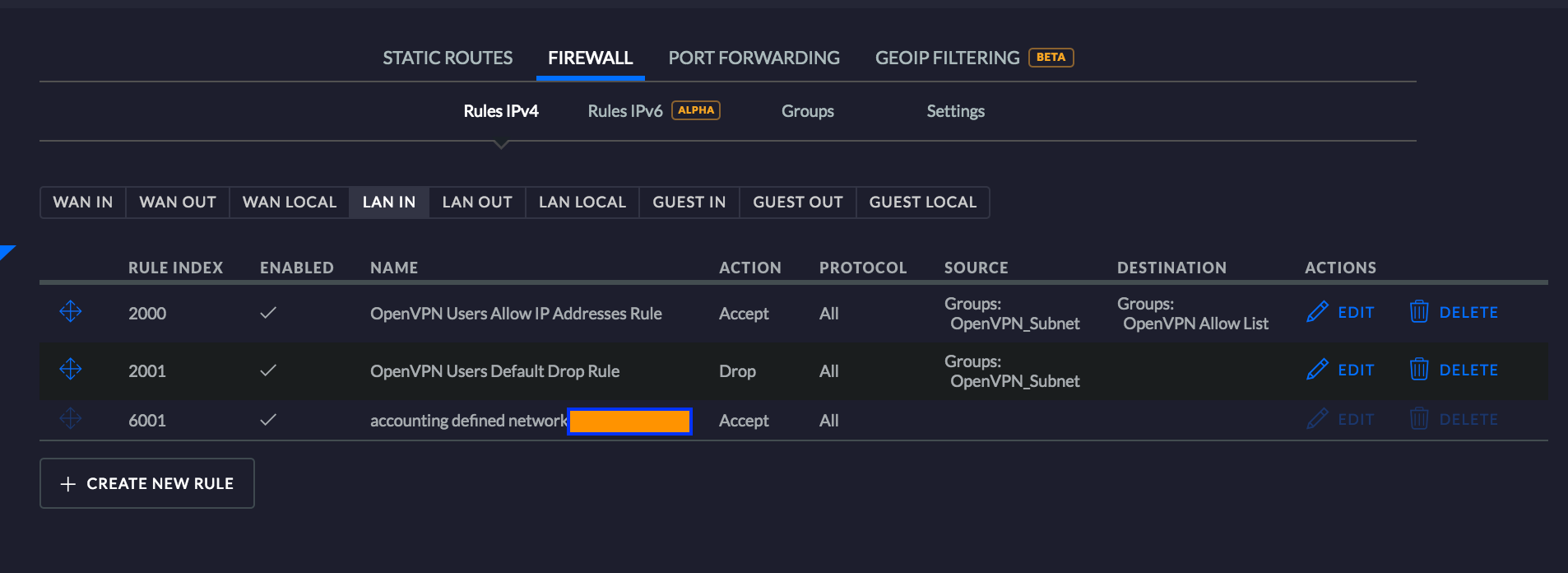 OpenVPN Setup & Configuration on UniFi Security Gateway