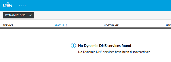 UniFi Controller Dyndns UI Bug w/ USG in 5 6 37 | Ubiquiti Community