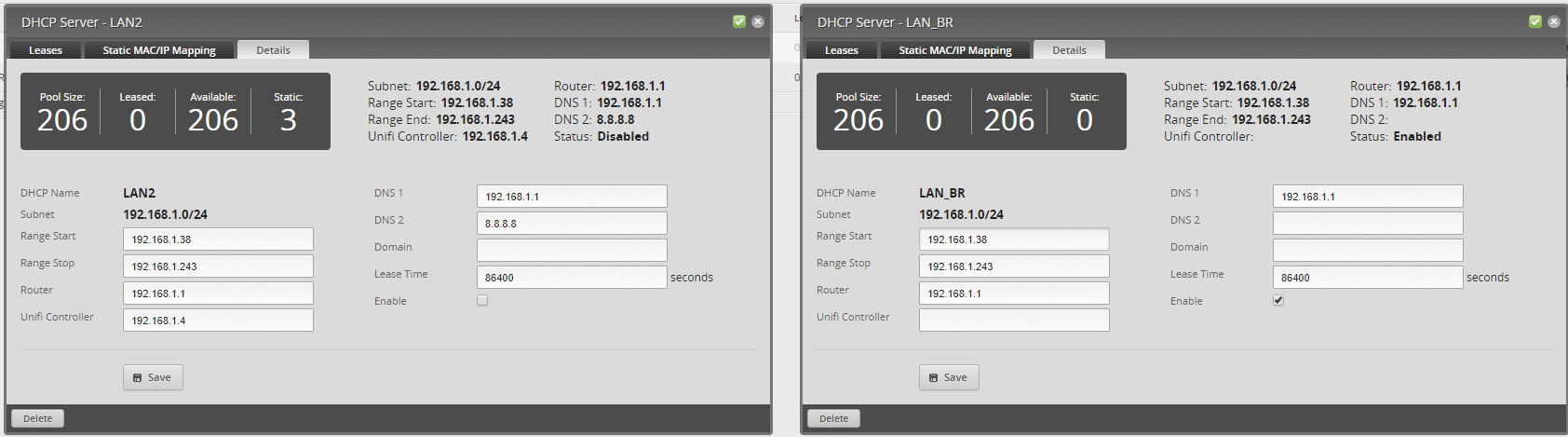 DHCP Not Assigning | Ubiquiti Community