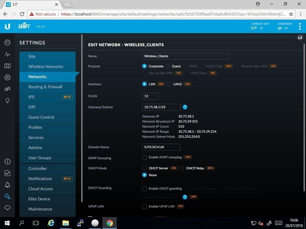 UniFi AP AC PRO - VLAN issue/DHCP | Ubiquiti Community