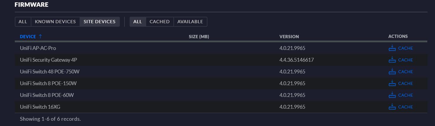 USG Pro 4 stuck in UPDATING DOWNLOADING status   Ubiquiti