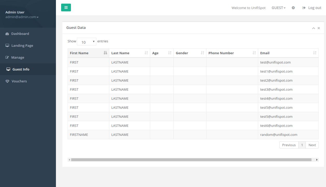 Spotipo : Open Source Hotspot Management System for Unifi | Ubiquiti